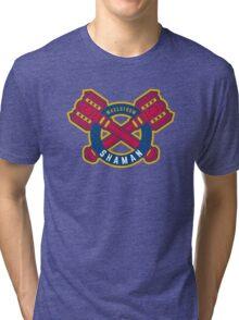 Shaman - WoW Baseball Series Tri-blend T-Shirt