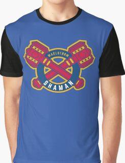 Shaman - WoW Baseball Series Graphic T-Shirt