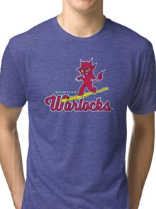 Warlocks - WoW Baseball Series Tri-blend T-Shirt