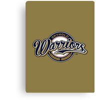 Warriors - WoW Baseball Series Canvas Print