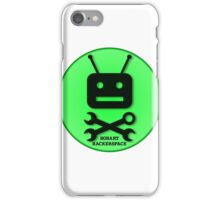 Hobart Hackerspace Logo (Green) iPhone Case/Skin