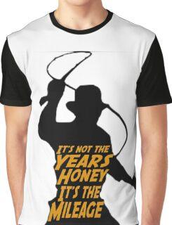 Indiana Jones:  It's the Mileage Graphic T-Shirt