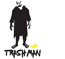 Trashman - X-Files Photographic Print