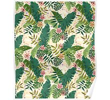 Tropical Pattern Poster