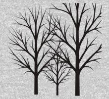 Bare Trees Beauty. Kids Tee