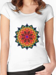 Mandala 105-160505-01 Women's Fitted Scoop T-Shirt