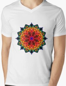 Mandala 105-160505-01 Mens V-Neck T-Shirt