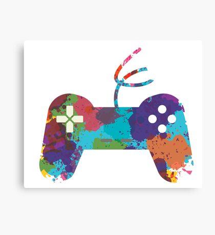 Gamer Canvas Print
