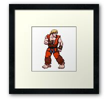 Ken Street Fighter Framed Print
