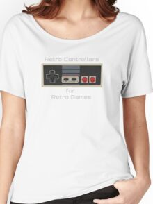 AUTHENTIC Nintendo Retro Controllers For Retro Games Women's Relaxed Fit T-Shirt
