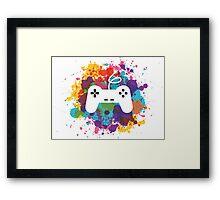 Game control Framed Print