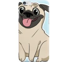 Perky Pug iPhone Case/Skin