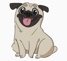 Perky Pug One Piece - Long Sleeve