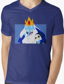 Ice King and Gunter Mens V-Neck T-Shirt