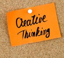 Creative Thinking Sticker