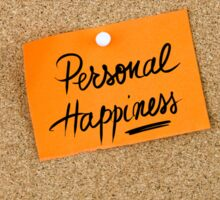 Personal Happiness Sticker