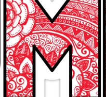 University of Maryland UMD doodle Sticker