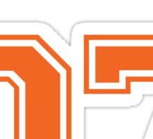 allison reynolds #7 defensive dealer Sticker
