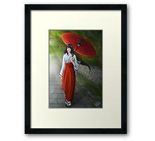 Miraculous Ladybug: Mego Murakami Framed Print