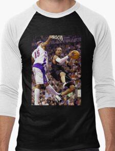 Allen Iverson retro flow Men's Baseball ¾ T-Shirt