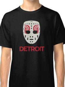 Vintage Detroit Red Wings Goalie Mask Classic T-Shirt