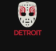 Vintage Detroit Red Wings Goalie Mask Unisex T-Shirt