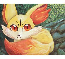 Fire Up Fennekin!!! Photographic Print