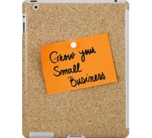 Grow Your Small Business iPad Case/Skin