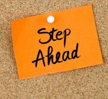 Step Ahead Sticker