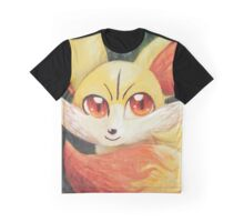 Fire Up Fennekin!!! Graphic T-Shirt