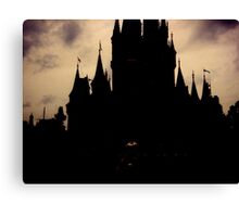 Where Dark Dreams Come True Canvas Print
