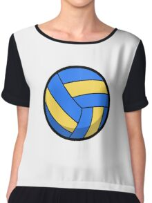Cool and Cute Volleyball Chiffon Top