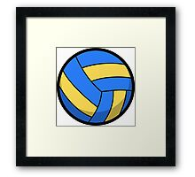 Cool and Cute Volleyball Framed Print