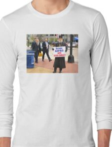 Occupy AIPAC with Jesus Christ Long Sleeve T-Shirt