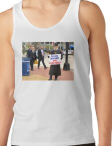 Occupy AIPAC with Jesus Christ Tank Top
