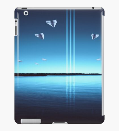 The Finest Paper Planes in the Galaxy IX: Like Moths to a Flame iPad Case/Skin