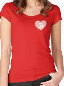 Cute Milk Women's Fitted Scoop T-Shirt