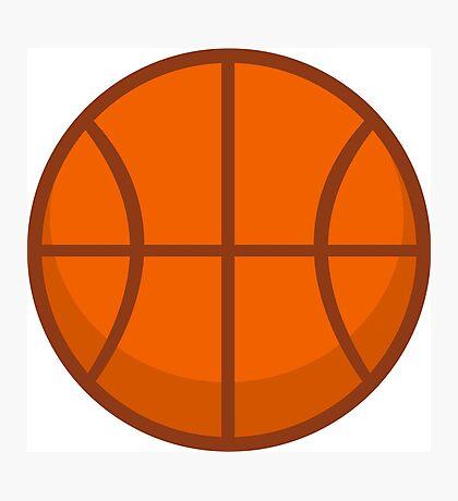 Cool Basketball Photographic Print