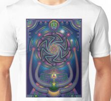 Unique abstract poster designs-Shiva the destroyer Unisex T-Shirt