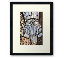 Glass Ceilings Framed Print