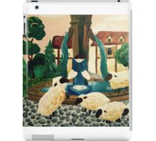 Belle Reading a book iPad Case/Skin