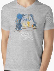 Star Wars Cat Mens V-Neck T-Shirt