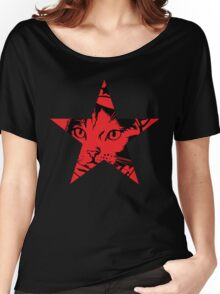 Survivor Squidgy - Red Star Women's Relaxed Fit T-Shirt