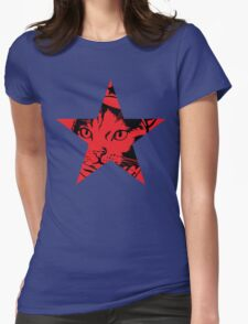 Survivor Squidgy - Red Star Womens Fitted T-Shirt