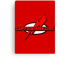 Captain Amazing Canvas Print