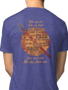 Firefly Ballad of Serenity Tri-blend T-Shirt