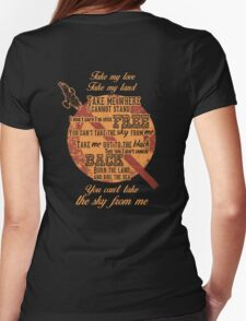 Firefly Ballad of Serenity Womens Fitted T-Shirt