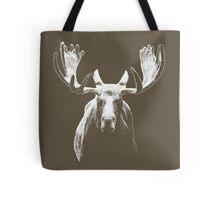 Bull moose white  Tote Bag