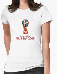 2018 FIFA World Cup Womens Fitted T-Shirt