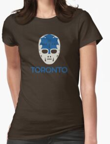 Vintage Toronto 70's Goalie Mask Womens Fitted T-Shirt